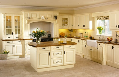 Kitchen Doors in Calcutta Design In Vanilla & Homestyle Kitchen and Bedroom Doors Unit 10 Leeds Street Wigan ...