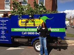 Customers House and garden clearance in Nottingham