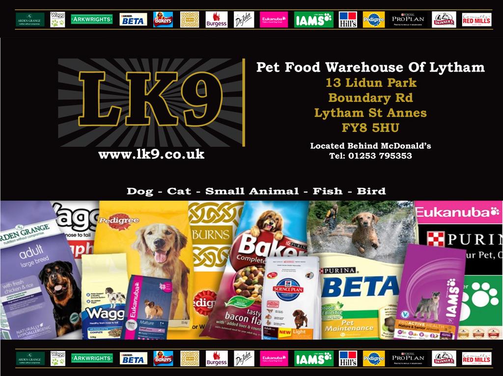 lk9 pet food warehouse unit 13 boundary road lytham st. Black Bedroom Furniture Sets. Home Design Ideas