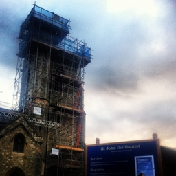 London Network Scaffolding Ltd - Church Restoration