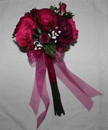 slik Rose bridal bouquet