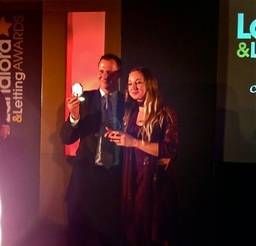 Daisylets wins the Landlord and Lettings Agents awards two years in a row 2010 and 2011/12