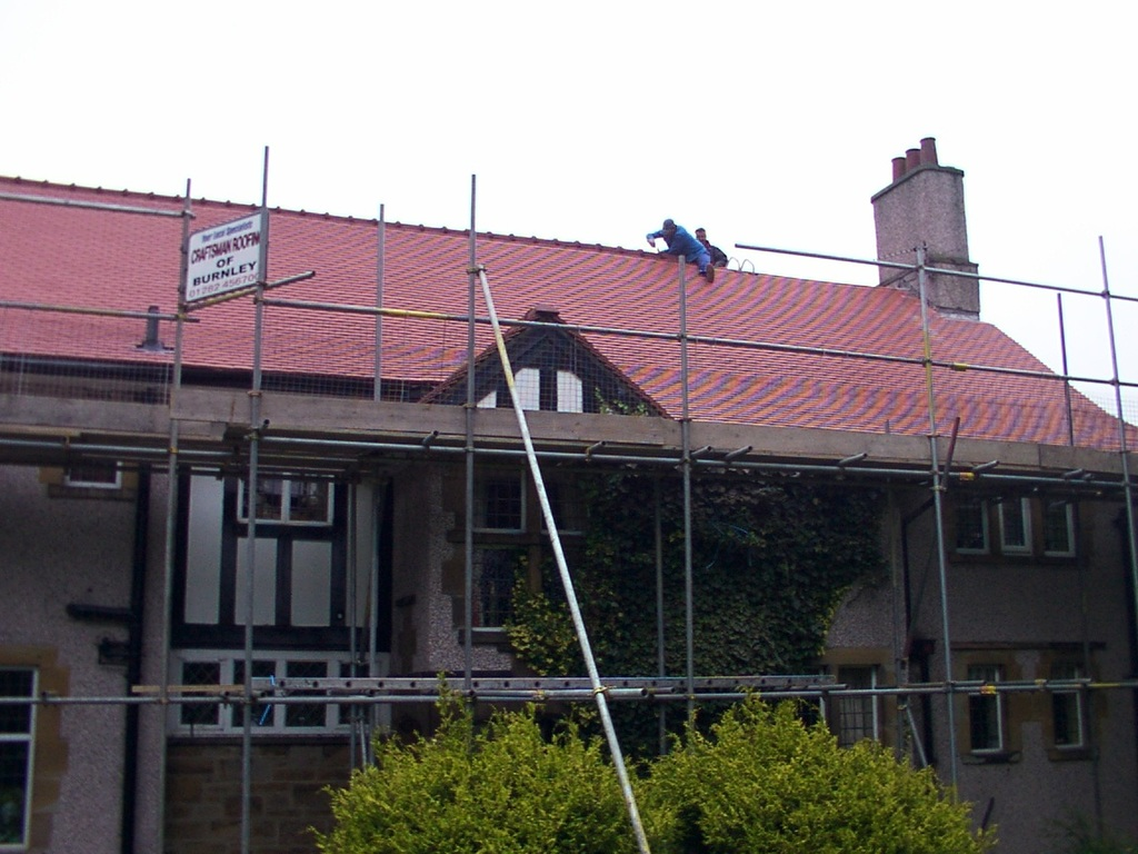 Craftsman Roofing Of Clitheroe Bold Venture Works Rear Of