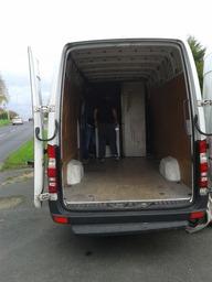 porter loading van removals company Leeds