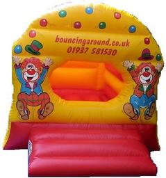 10 x 10 foot, £50 hire charge