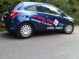 the driving skool.com Belvedere