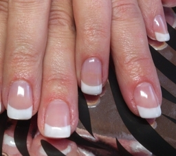 French nail extensions
