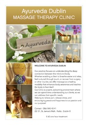 AYURVEDA TREATMENT AVAILABLE IN DUBLIN