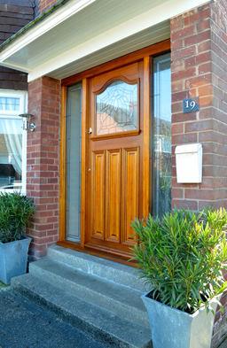 Oak Combination Frame & Door.