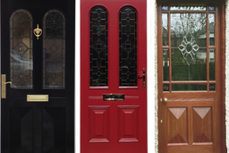 Victorian Front Doors made in Nottingham