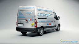 vehicle wrap (design and print)