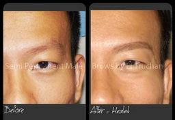 Male Brows Semi Permanent Makeup By El Truchan