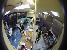 Fisheye CCTV