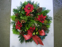 Beautiful Localy Hand Made Holly Wreaths