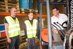 Counterbalance Fork Lift Driver Training