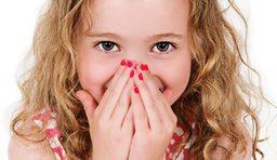 little girl peek a boo photograph