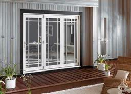 External Folding Sliding Door Set Finished White