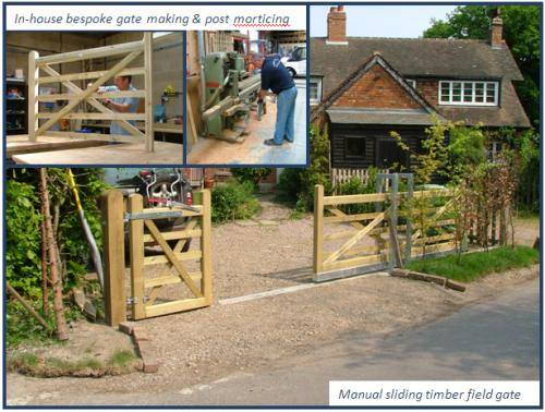 Tonbridge Fencing Court Lane Farm Court Lane Hadlow