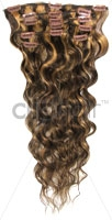 Bodywave Clip in Hair Extensions
