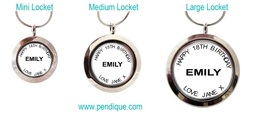 Personalised Floating Memory Lockets