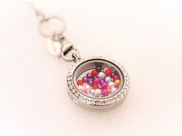 Petite Pearl charms for floating lockets