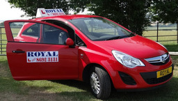 Red Royal Car
