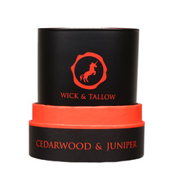 Wick & Tallow Cedarwood & Juniper