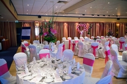 A wedding reception in the Washington Suite