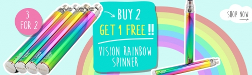 vision spinner 2 rainbow