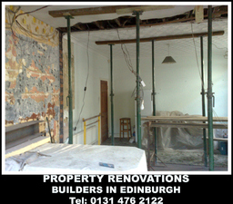 renovations, refurbishments, building services