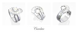 Fairtrade Gold Diamond Engagement Ring Wedding Set