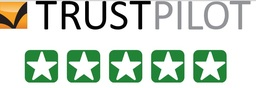 5 stars we got on Trustpilot