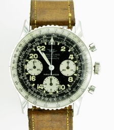 BREITLING NAVITIMER COSMANAUTE ORIGINAL 60s. Collection of a Premiership Football player.