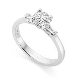 Avanti designed diamond engagement ring