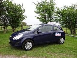 Blue Royal Car