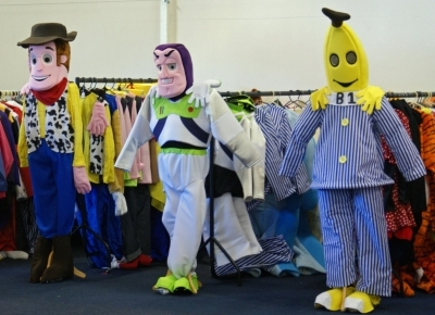 Woody Buzz and Bananas in Pajamas & Sandroy Fancy Dress Hire in 74 Cross Gates Road Leeds West ...
