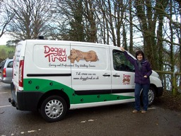 Ann & the Doggy Tired van!