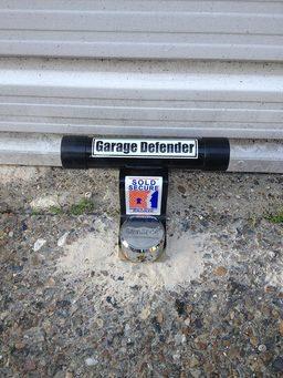 garage defender installed