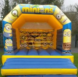 Minions Bouncy Castle for hire Belfast
