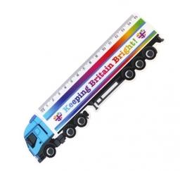 15cm Shaped Ruler Lorry