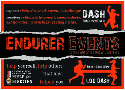 Endurer Events (flyer design)