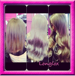 hair transformed with easilocks hair extensions