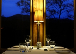 Restaurant at Knockendarroch Hotel and Restaurant in Pitlochry