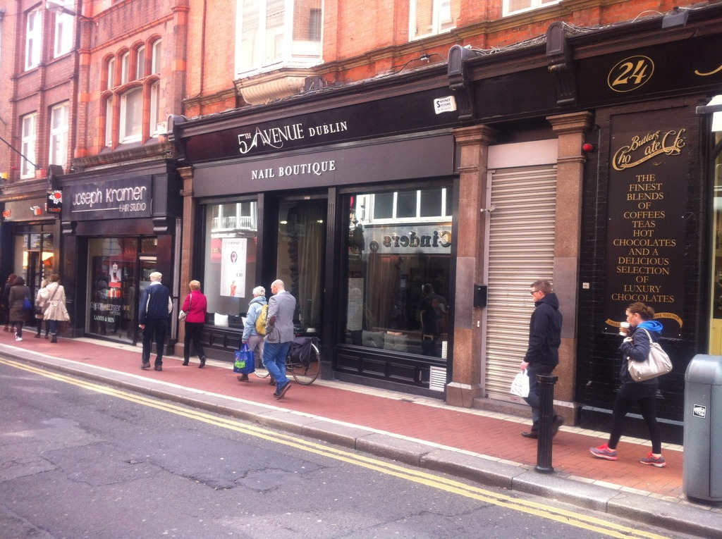 5th avenue nail boutique 24a wicklow street dublin for 5th avenue nail salon