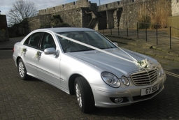 Mercedes E Class Dressed In Ribbons And Bows