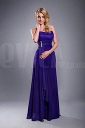 strapless-cadbury-purple-lace-up-bridesmaid-chiffo