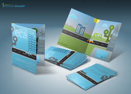 ECA Welcome pack (design and print)