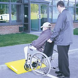 Wheelchair Ramp or Barrow Ramp - Portable, keep one on your truck/van