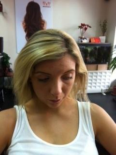 K hair before