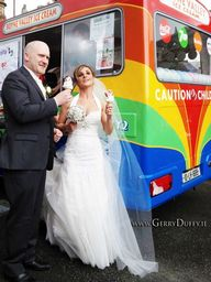 Ice Cream van at a Dundalk wedding St Patricks